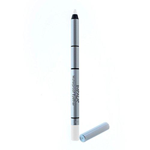 Impala - Lápiz de ojos waterproof cremoso Color Blanco intenzo Nº320 duradero