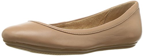 Naturalizer Women's Brittany Ballet Flat, chai, 8 M US
