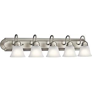 Kichler Lighting 5339NIS Five Light Bath, Brushed Nickel
