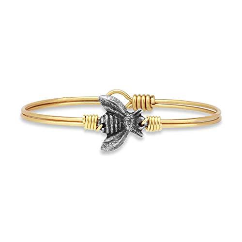 Luca + Danni Bee Bangle Bracelet for Women Made in USA