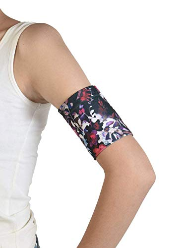 Dia-Band - Brazalete protector para el sensor de glucosa Freestyle Libre, Medtronic, Dexcom o Omnipod - Banda para diabéticos reutilizable (M (27-31 cm))