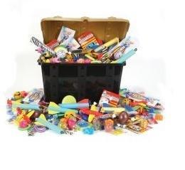 Kids Treasure Chest Toy Assortment 500 Piece Set