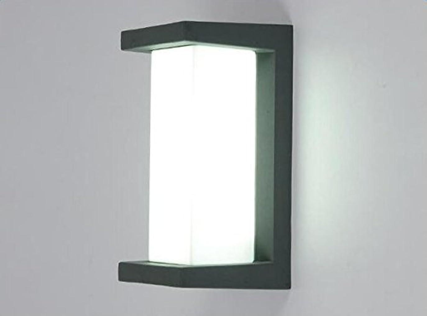 通貨サーマル私たちのものAmeelie LED 玄関ライト ポーチライト ウォールライト ブラケットライト アウトドアライト 玄関灯 防雨型 省エネ led門柱灯 壁取り付け用ライト 10W 20LED(長方形縦)