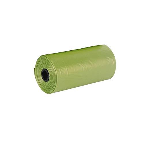 Mais Biologisch abbaubare Haushaltsmüllsäcke Klassifizierte ToilettenreinigungKüchenmüllsäcke Aufbrechen Dickeres Plastikgrün 22x33cm