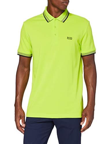 BOSS Herren Paddy Polohemd, Bright Green (325), XXL