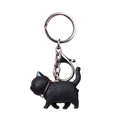 IYSHOUGONG 1 llavero con diseño de gato, colgante de bolso, adorno adorable, ideal para regalo para niños, niñas, mujeres y hombres, estilo H