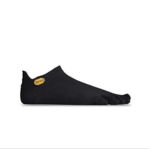 Vibram Fivefingers Athletic No Show - Calcetines para hombre, Hombre, Calcetines., S15N03S, gris, small