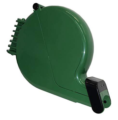 Impretech International Group. Dispensador de tickets verde con montaje de pared