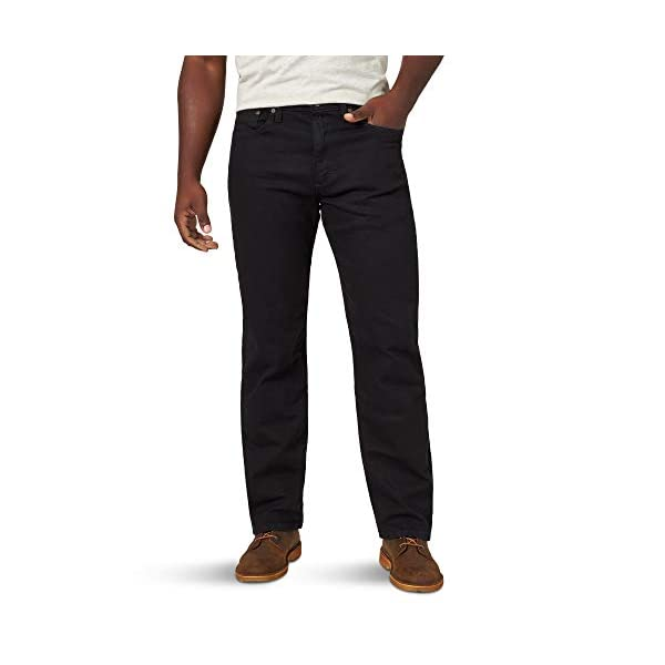 Wrangler Authentics Men's Classic 5-Pocket Relaxed Fit Flex Jean