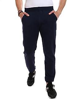 Diadora Elastic-Waist Side-Pocket Embroidered-Logo SweatPants For Men M