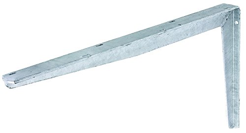 GAH-Alberts 800819 Konsole aus T-Profil, für extreme Beanspruchung und Belastung, feueverzinkt, 300 x 550 mm