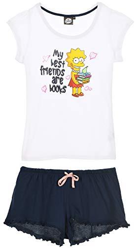 The Simpsons Damen Kurz Pyjama Schlafanzug