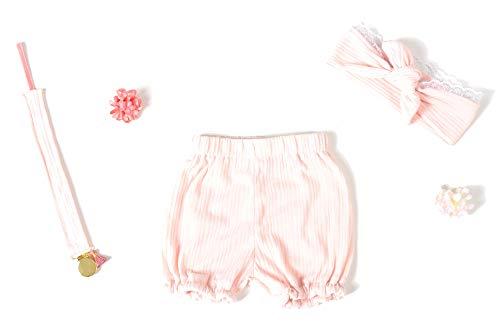 Coffret naissance fille 3 pièces rose P'TIT CHAMALLOW (6-12 mois)