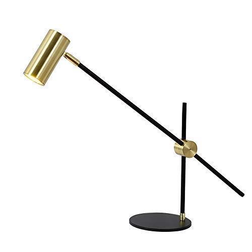 XXLYY Diseño Simple y único Lámpara de Mesa con Foco Ajustable de Metal Trabajo/Habitación Hotel/Restaurante/Dormitorio/Tienda/Cafe