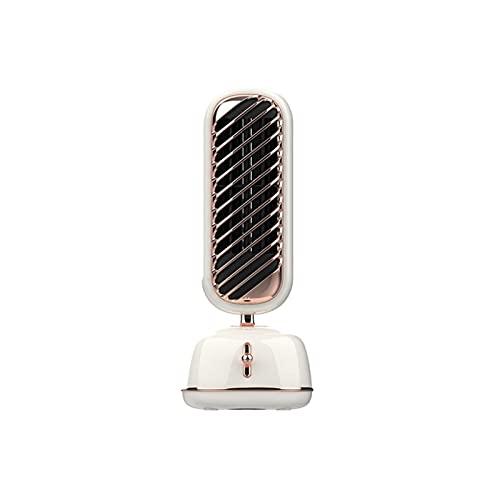 YUEWEIWEI Ventilador pequeño, ventilador de escritorio vertical, aerosol de enfriamiento de la torre de humedad, ventilador de refrigeración para el hogar de oficina, Mini ventilador de cabeza móvil p