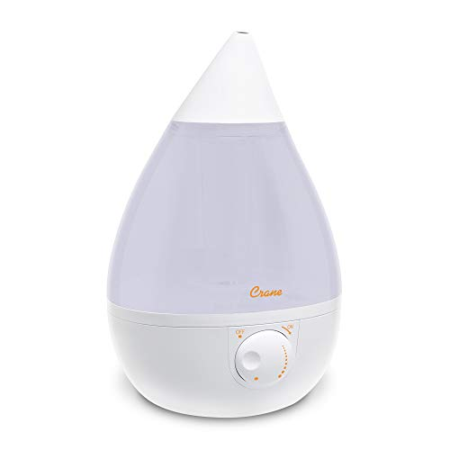 Crane Ultrasonic Cool Mist Humidifier, Filter-Free, 1...