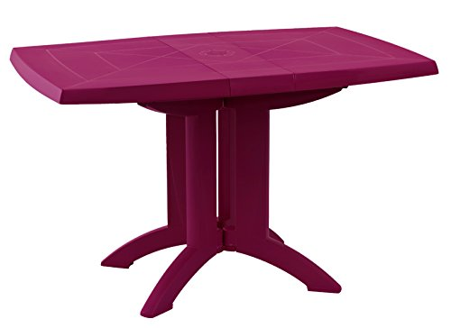 GROSFILLEX Vega Table, Framboise, 118 x 77 x 72 cm