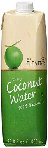The Elements Kokosnusswasser Tetra Pak, 2er Pack (2 x 1 l)