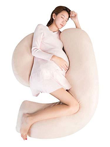 Chunjiao H-förmiges Kissen für Schwangere Frauen, Taille Schutzkissen, Körperkissen, multifunktionale Seitenkissen, 150 cm * 90 cm * 20 cm U-förmiges Kissen