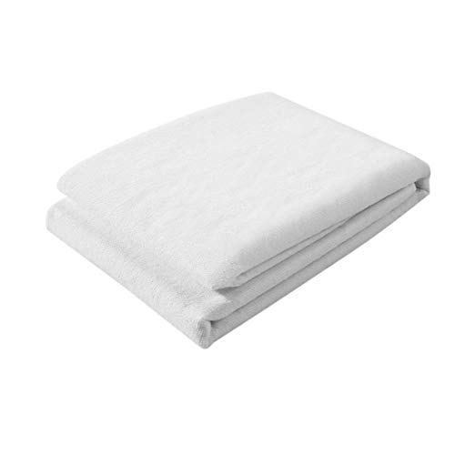 Polyester Cotton Pad Sanding Bed Cover High Solid Color Mattress Hotel Mattress Protector Cover Simmons + White
