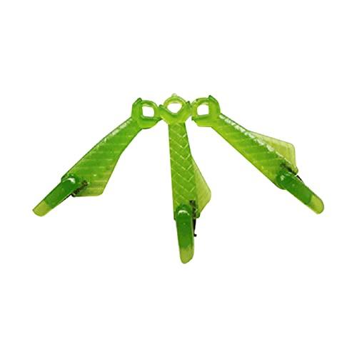 Crazyfly Enhebradores de agujas,Enhebrador de agujas de tipo pescado,Enhebrador simple de 3PCS Wire Loop DIY para máquina de coser
