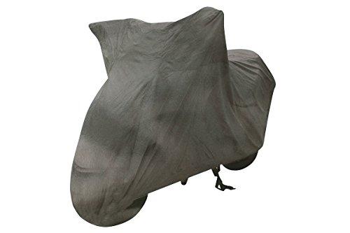 Bâche de protection pour moto Gris Taille XL