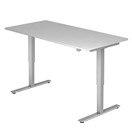 A-Series Elektrisch höhenverstellbarer Schreibtisch AS1258 mit Memoryschalter, Tischplatte 160x80cm (GRAU)