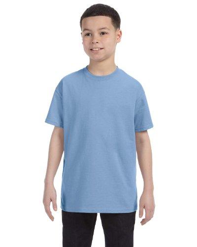 youth light blue tshirt - 4