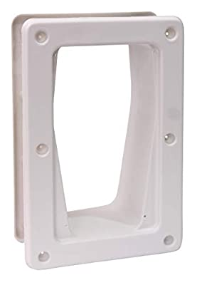 PetSafe Wall Install Kit for PetSafe Electronic SmartDoor, Large, White