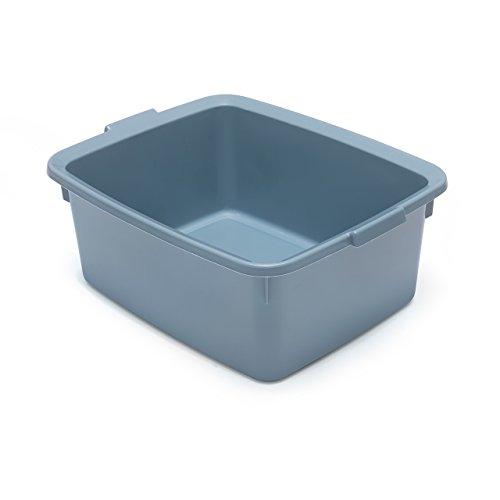 Addis, bacinella in plastica, Ampia, Rettangolare, plastica, Air Blue, 33 x 42 x 17 cm