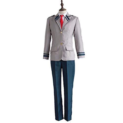 YKJ Anime Charakter Anzug Tops Und Hosen College Uniformen Anime Cosplay Halloween Party Kostüme Full Set,Suit -M