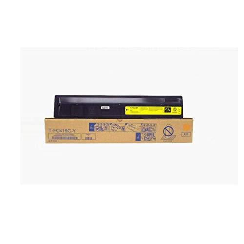 Toner della stampante, compatibile con cartuccia toner Toshiba T-FC415C per Toshiba E-Studio 2010 2510 2515 3015AC Cartuccia copiatrice, 4 colori nero 38000 pagine C yellow
