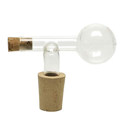 Bottle Master 4000948014479 Look Portionierer für Edelbrände-2,0 cl. = 20 ml. für 0,5-0,7 lt. Flaschen, Glas-Naturkorken
