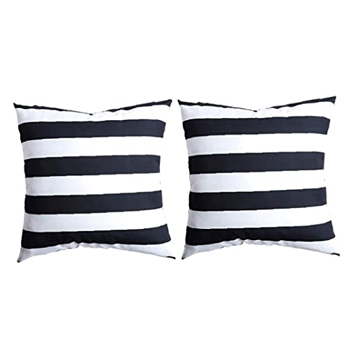 Naisicatar Funda de cojín de algodón y cuero para dormitorio, sofá, oficina, decoración al aire libre