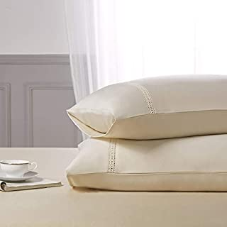 COISINI Satin Pillowcase for Hair and Skin, 2-Pack - Standard Size (20x26 inches) Pillow Cases - Satin Pillow Covers with ...