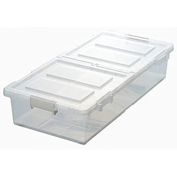 ベッド下 収納ボックス 幅39×奥行80×高さ16.5cm