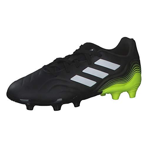 adidas Copa Sense.3 FG J, Zapatillas de fútbol, NEGBÁS/FTWBLA/Amasol, 35.5 EU