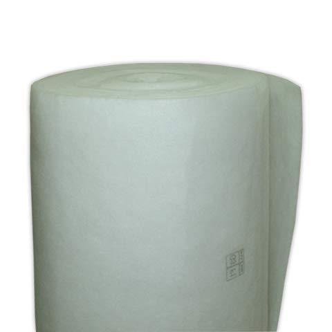 DOJA Industrial | Manta de Fibra Sintetica 4/25 Rollo 20m | Rollos 20 m Grosor 20mm, efic. gravimetica 92,5% G-4