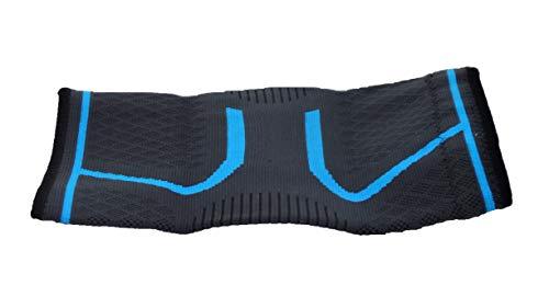 2 rodilleras de compresión - Tamaño XL color azul - Ideales para aliviar o prevenir hinchazas : dolor artrosis, ligamental o articulaciones