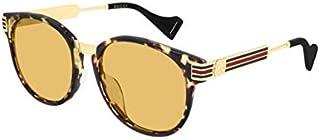 Sunglasses Gucci GG 0586 SA- 003 Havana/Yellow Gold