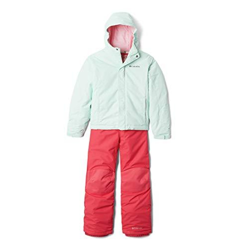 Columbia Buga Set de esquí, Unisex niños, Sea Ice Sparklers Print, Pink Orchid, 6/12