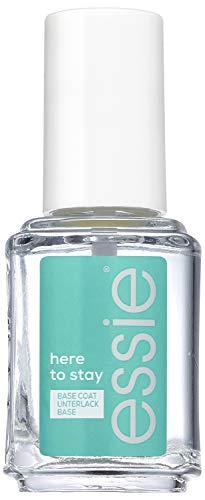 Essie Base Coat here to stay, Farbfixierung des Lacks und Schutz der Nägel vor Verfärbung, 13.5 ml