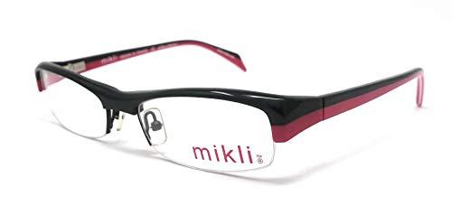 Alain Mikli Augenmuschel für Damen ML 1044 Schwarz und Rot 0001