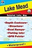 Lake Mead Arizon/Nevada Fishing Map (L901)