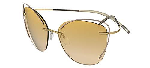 Silhouette Gafas de Sol TMA ATWIRE 8163 Rose Gold/Gold Beige