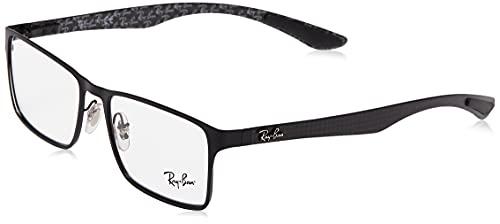 Óculos de Grau Ray Ban Tech RB8415 Preto Fosco Carbon Fiber