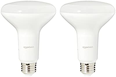 AmazonBasics 65 Watt Equivalent, Dimmable, BR30 LED Light Bulb