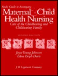 Maternal and Child Health Nursing 0397551126 Book Cover