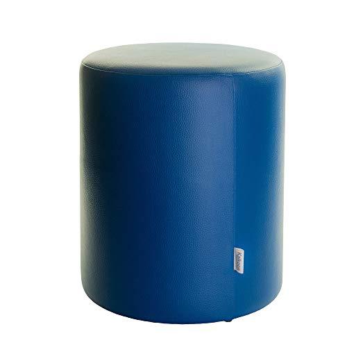 Sitzhocker blau Ø34cm x60cm