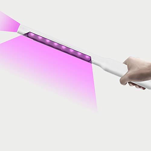 Auelife UV Desinfektion Lampe, Tragbare UV Sterilisator Lampe Professionelle UV Stab Desinfektionslampe Sterilisationsrate von 99,9%, für Heim, Hotel, Toilette, Autositz, Haustierdesinfektion